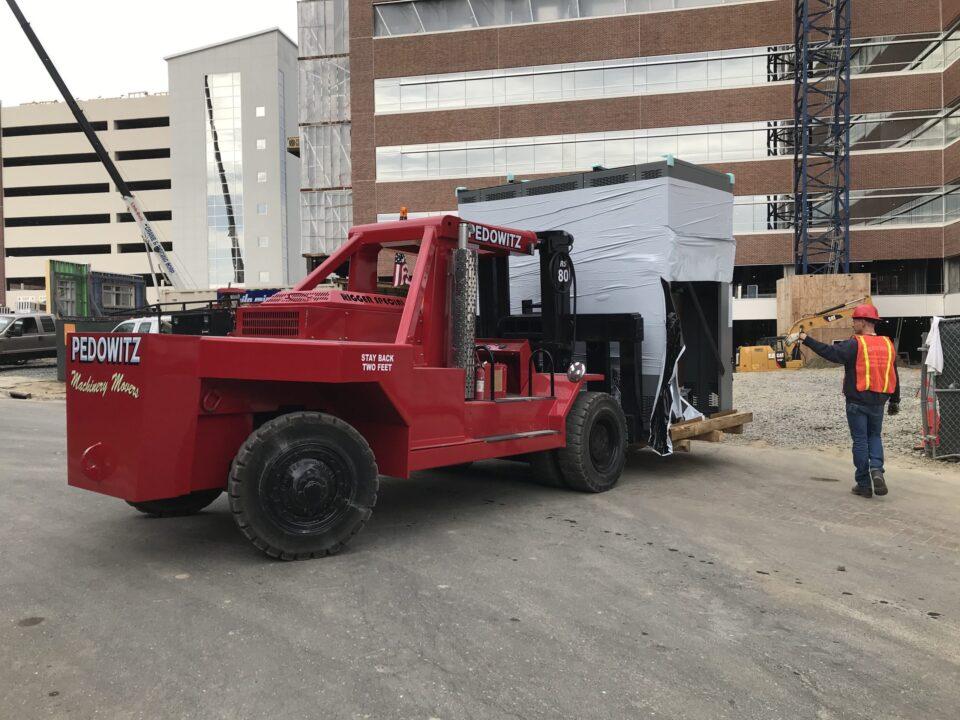 Pedowitz Machinery Movers Charlotte NC Turnkey Trucking and Rigging Services Company k Transformer Switchgear u