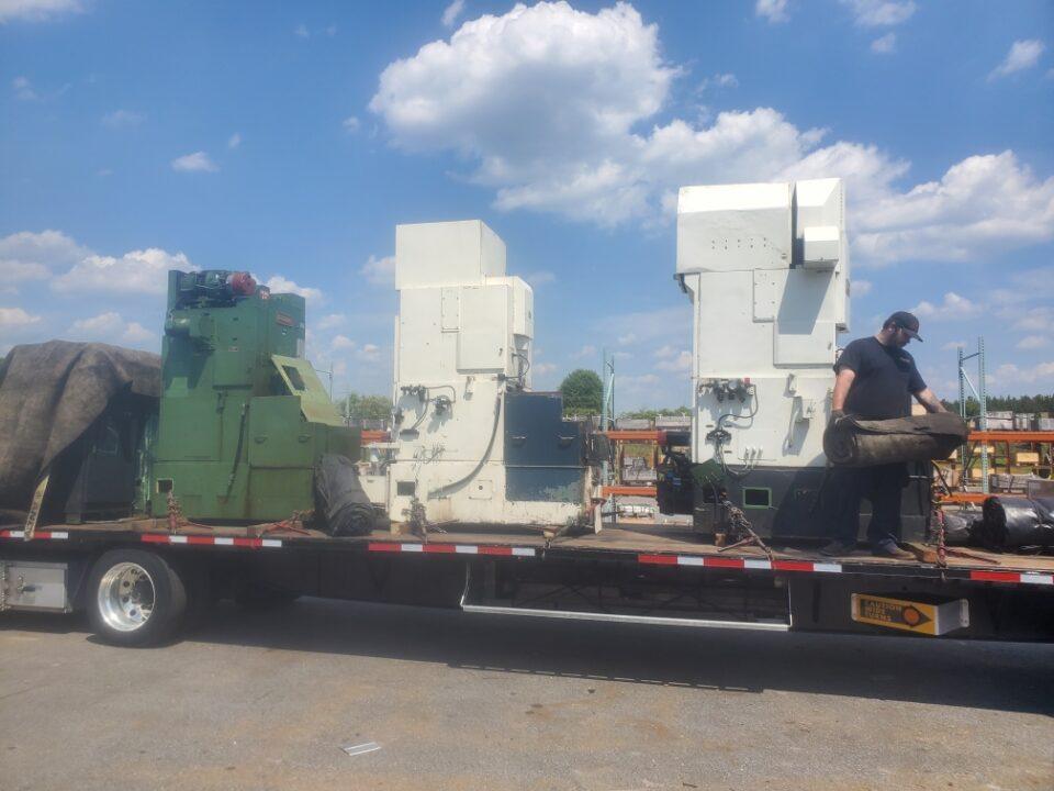 Sharper Machines Curtiss-Wright Controls Machinery Movers North Carolina 2