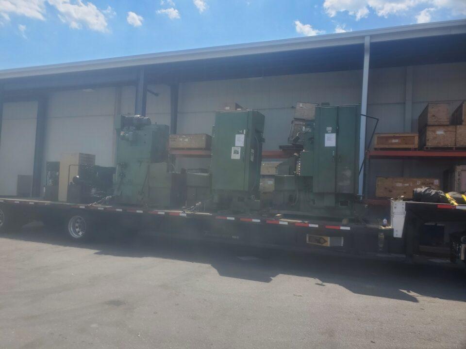 Sharper Machines Curtiss-Wright Controls Machinery Movers North Carolina
