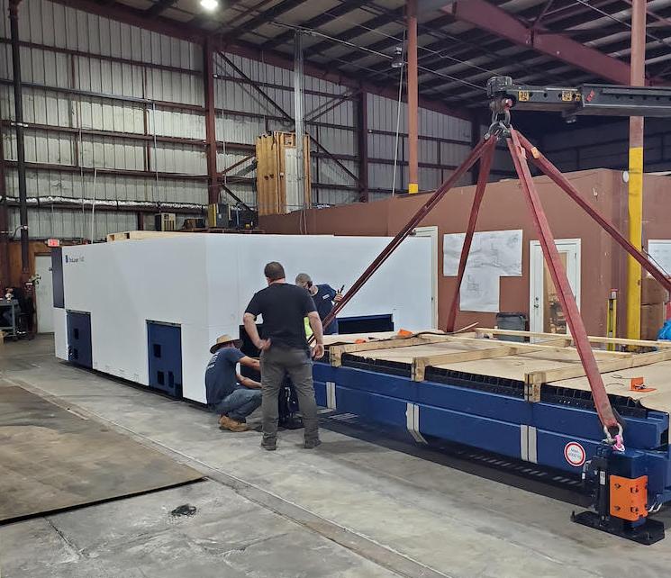 Pedowitz Turnkey Machinery Movers Charlotte North Carolina Trucking & Rigging Capabilities