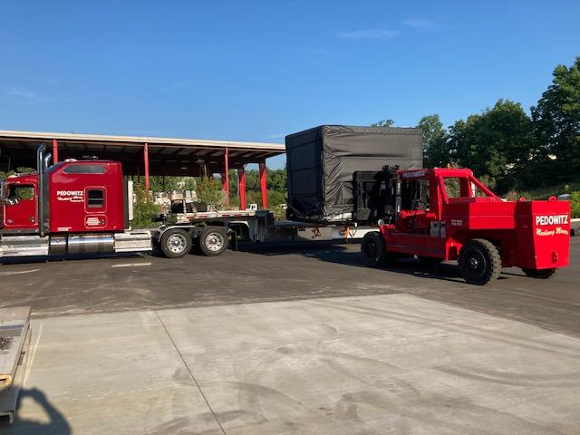 Transport Okuma M560 Machinery Movers Carolina Rigging Company 2