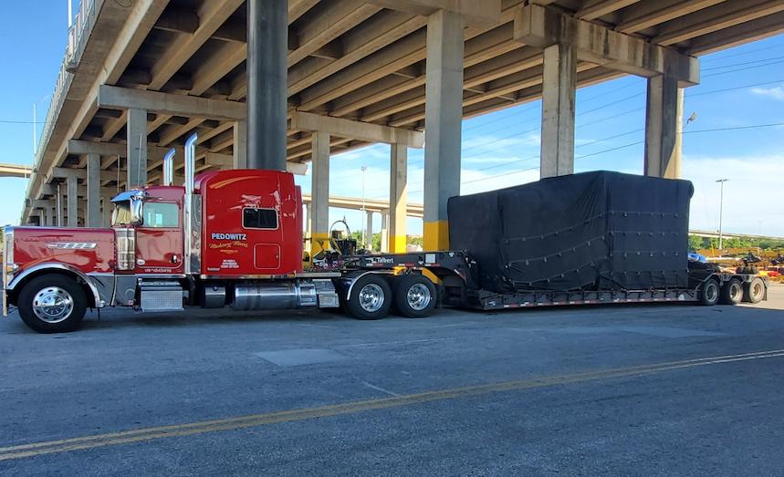 Trucking & Rigging Capabilities Charlotte Machinery Movers 1