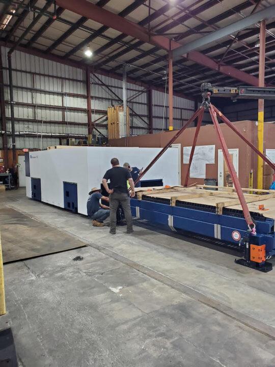 Trucking & Rigging Capabilities Charlotte Machinery Movers 3