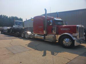 Pedowitz Machinery Movers Carolina Trucking & Rigging CNC Mechanical Equipment Transportation DHL Local Move Yard Hustler Jockey 4c
