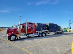 Pedowitz Machinery Movers Defense and Aeronautics Trucking Rigging West Virginia 2